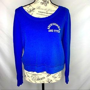 Abercrombie cropped sweatshirt